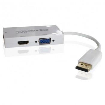 ADAPTADOR APPROX DISPLAYPORT A HDMI VGA DVI APPC37