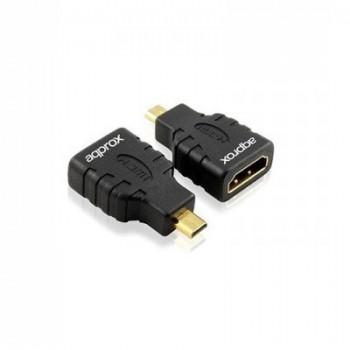 ADAPTADOR APPROX HDMI A MICRO HDMI APPC19