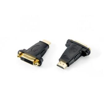 ADAPTADOR HDMI MACHO A DVI HEMBRA EQUIP 118909