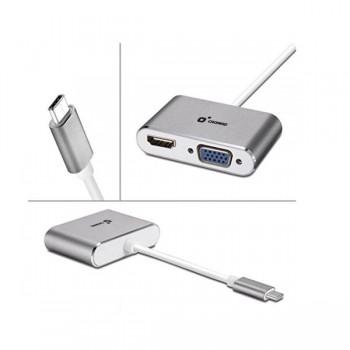 ADAPTADOR TIPO C - HDMI Y VGA CROMAD CR0983