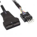 ADAPTADOR USB 3.0 HEMBRA A 2.0 MACHO 20PF/9PM 46727