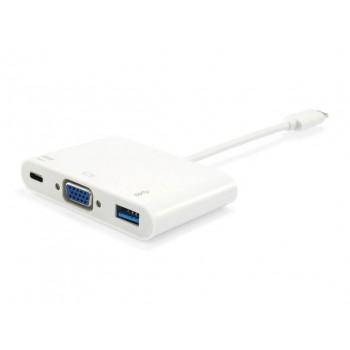 ADAPTADOR USB TIPO-C A VGA EQ133451