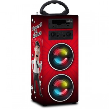 ALTAVOZ KARAOKE BLUETOOTH + LUZ LED MANDATELO 10W CS0138