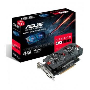 AMD RADEON ASUS RX560 4GB GDDR5 HDMI DVI DP 90YV0AH9-M0NA00