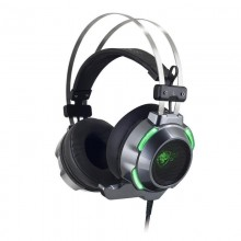 Auricular+micro SPIRIT ELITE-H30 Negro/Verde MIC-EH30BK