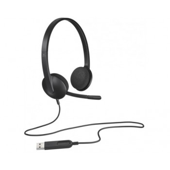 AURICULARES + MICRO H340 USB HEADSET LOGITECH 981-000475
