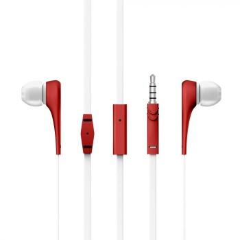 AURICULARES ENERGY EARPHONES STYLE 1+ RED 446001