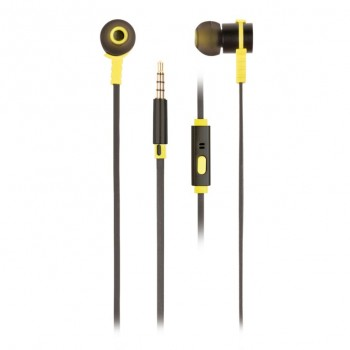 Auriculares NGS Metálicos negro CROSSRALLYBLACK