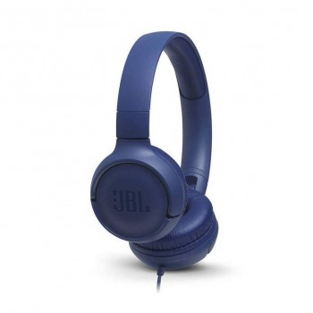 Auriculares On-ear JBL Tune 3.5mm c/micro Azul JBLT500BLU