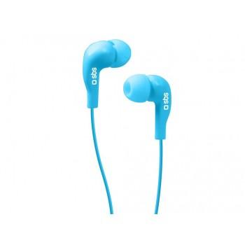 AURICULARES SBS IN-EAR SPORT AZUL TEINEARBL