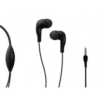 AURICULARES SBS IN-EAR SPORT NEGRO TEINEARKL