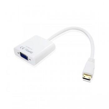 CABLE APPROX MINI HDMI A VGA APPC20