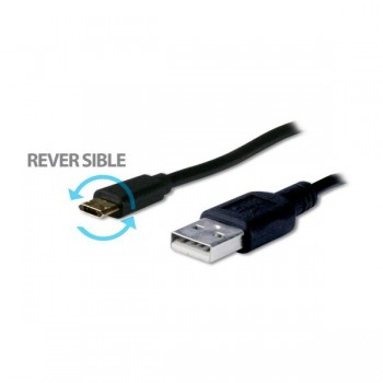 Cable Cromad Micro USB Reversible a USB 1.2 Metro CR0838