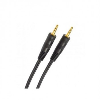 Cable Cromad Stereo Mini Jack 3.5 M/M Audio 5M CR0136