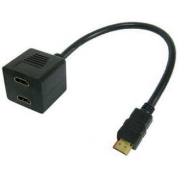 CABLE DE HDMI A 2 HDMI HEMBRAS (DUPLICADOR) CBHDMI1X2