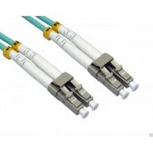 CABLE FIBRA OM3 LC-LC DUPLEX 0.5m FIBRA3M-LCLC-005