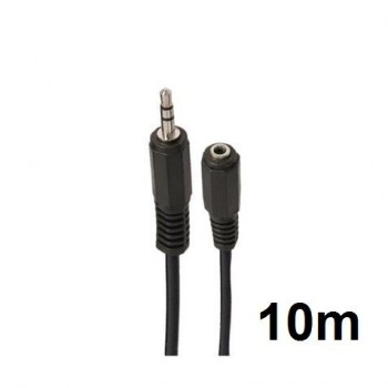 Cable Stereo Mini Jack 3.5 Extension M/H 10 Metro CR0887
