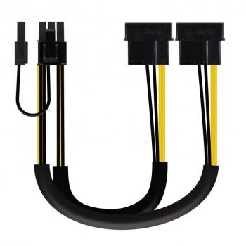 Cable tarjeta gráfica, 2xMolex 4pin/M-PCI-E 8PIN 10.19.1201