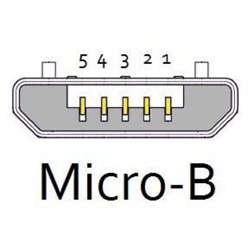 cable usb 2 0 otg micro usb tipo b  m a  h negro 15c 10 01