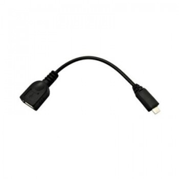 CABLE USB 2.0 OTG SONY TIPO MICRO-A/M A/H NEGRO 15 10.01.3000