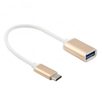 CABLE USB 3.1 TIPO C A USB HEMBRA 3.0 20CM OTG CR0729