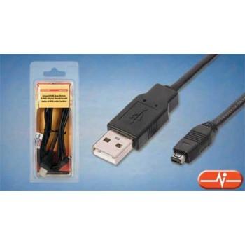 CABLE USB V.2.0 TIPO A-MINI B (4P) RBM420