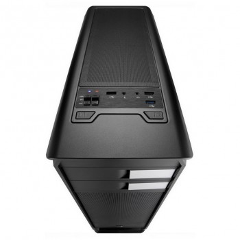 CAJA AEROCOOL AERO 500 NEGRA USB3 VENTANA AERO500BKW