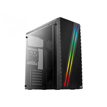 CAJA AEROCOOL Streak RGB Usb3 Negro