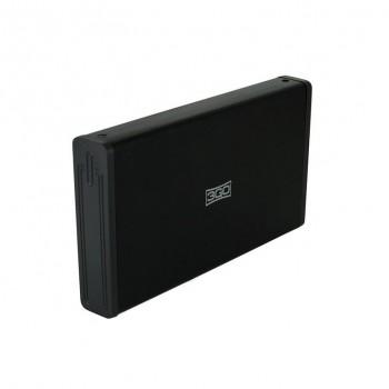 """CAJA EXTERNA 3GO 3.5"""" SATA USB3 NEGRO HDD35BK312"""