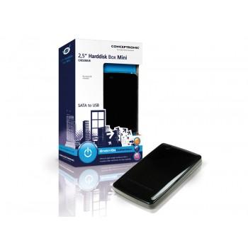 """CAJA EXTERNA HD SATA 2,5"""" USB NEGRA CHD2MUB"""