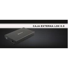 """CAJA EXTERNA HDD UNYKA 3.5"""" USB 2.0 LOK 2.0 57003"""