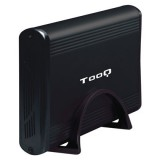 """CAJA EXTERNA TOOQ 3.5"""" IDE-SATA USB 2.0 NEGRO TQE-3518B"""