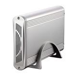 """CAJA EXTERNA TOOQ 3.5"""" IDE-SATA USB 2.0 PLATA TQE-3518S"""