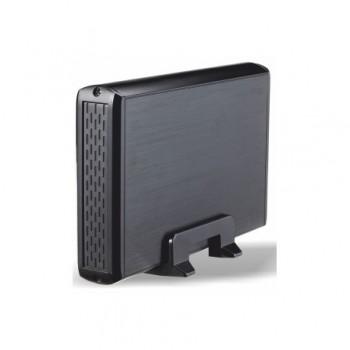 """CAJA EXTERNA TOOQ 3.5"""" SATA USB2 NEGRO TQE-3509B"""