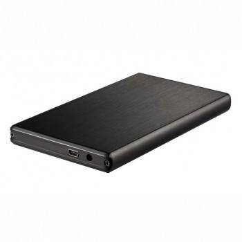"""Caja HDD TOOQ 2.5"""" Sata USB3.0 Negra TQE-2524B"""