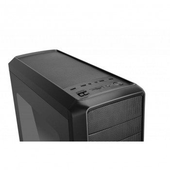 CAJA NOX COOLBAY ZX RED LED MIDI-TOWER NEGRO NXCBAYZXRD