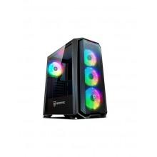 CAJA TORRE GAMING NFORTEC KRATER RGB BLACK NF-CS-KRATER-BLA