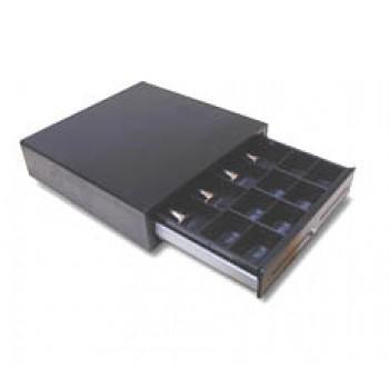 CAJON TPV NEGRO POSIFLEX 410X410X110 5BILL/8MON 4042-071