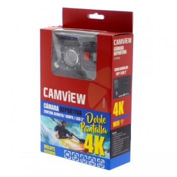 CAMARA DEPORTIVA DOBLE PANTALLA 4K   SONY 16MPX CV0166