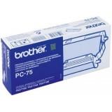 CARTUCHO + BOBINA BROTHER PC-75 FAX T104/T106