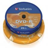 DVD-R VIRGEN VERBATIM TARRINA (25 UDS.) 43522