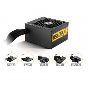 FUENTE NOX HUMMER GD750 80+ GOLD NXHM750GD