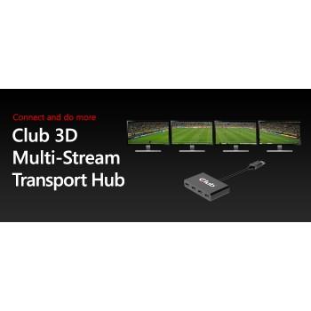 HUB CLUB3D MULTI STREAM 1xDP A 4xDP CSV-5400