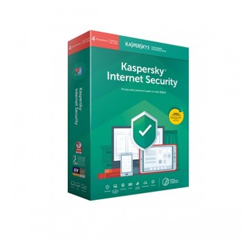Kaspersky Internet Security 2019 4U KL1939S5DFS-9LTD