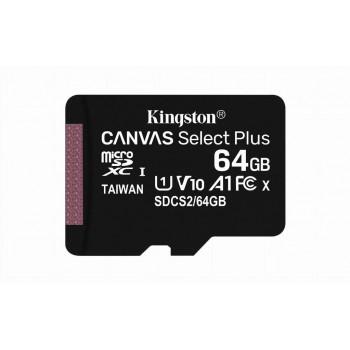 Kingston MicroSDXC 64GB C10 SDCS2/64GBSP