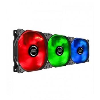 KIT 3 VENTILADORES MARS GAMING RGB 12X12MM MFRGBKIT