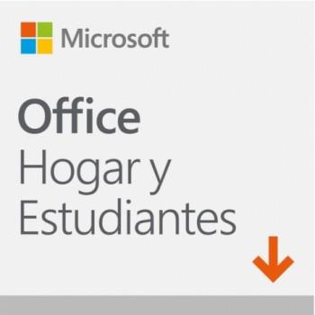 MICROSOFT OFFICE HOGAR Y ESTUDIANTE 2019 (ELEC) 79G-05018