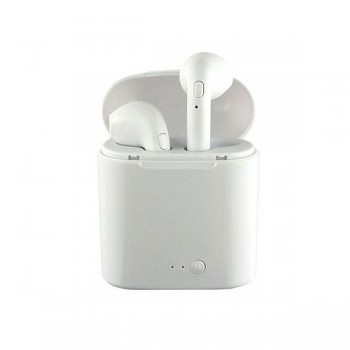 MINI AURICULARES BLUETOOTH I7S (IOS/ANDROID) BLAN 52499