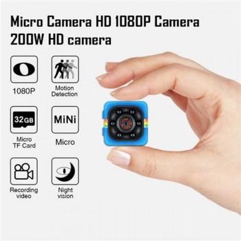 MINI VIDEOCAMARA FULL HD 1080P NEGRO CON VISION NO 54299