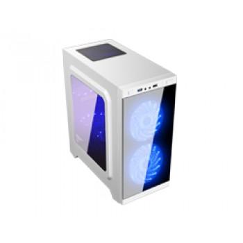 MiniTorre ARMOR C21 mATX Gaming 1xUSB Blanca 511206
